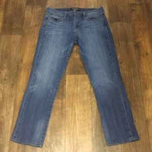 EUC Lucky Brand Sweet N Straight ankle jeans